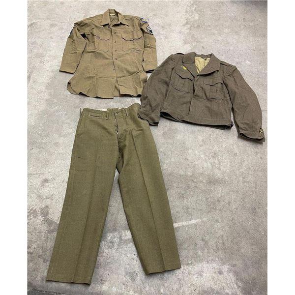 WW2 Tom Ford Uniform Montana 94th 15th Airborne