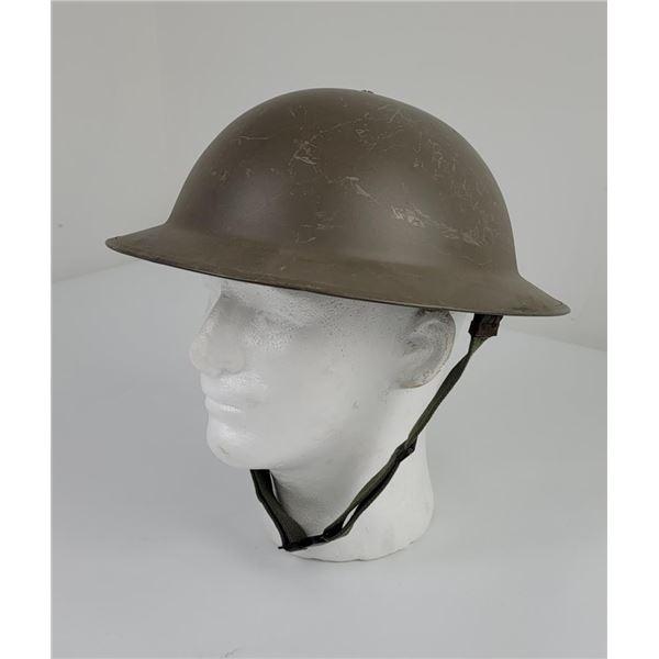 WW2 British or Canadian Brodie Helmet