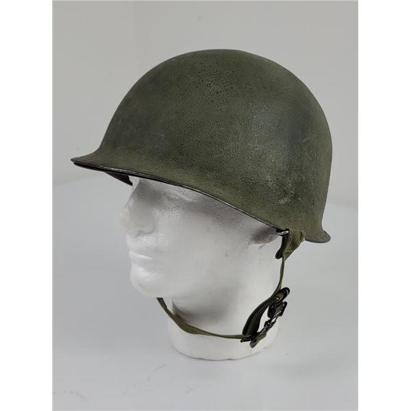 Rear Seam WW2 M1 US Army Helmet
