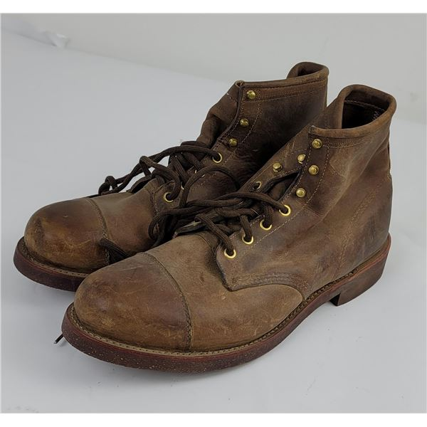 Vintage LL Bean Size 11.5 LEather Boots