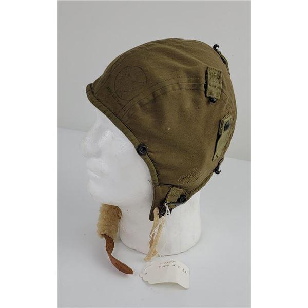 WW2 Type A-9 Summer Flight Helmet US AAF