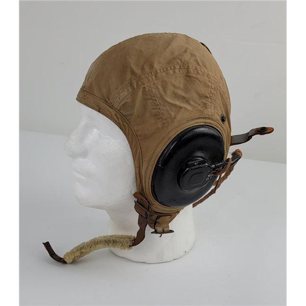 Rare WW2 US Marine Corps an6540-2s Flight Helmet