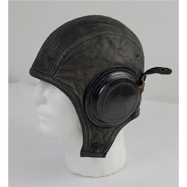 WW2 US Navy Leather Flight Helmet