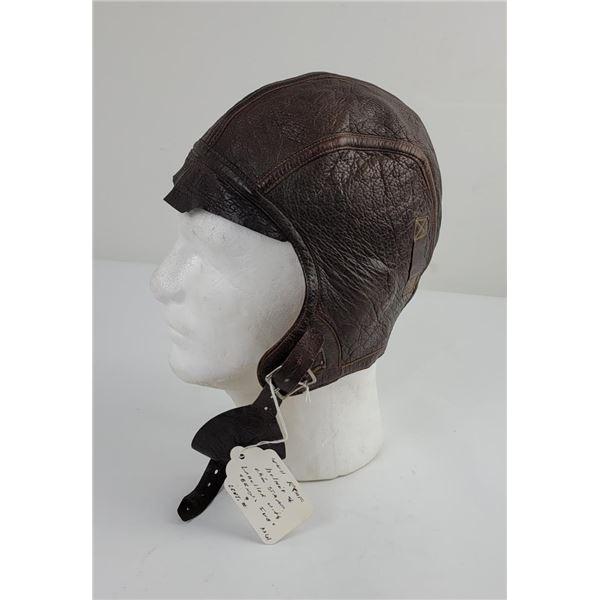 WW2 Royal Canadian Air Force Flight Helmet