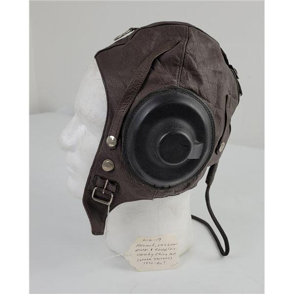 Chinese Airforce Mig-19 Flight Helmet