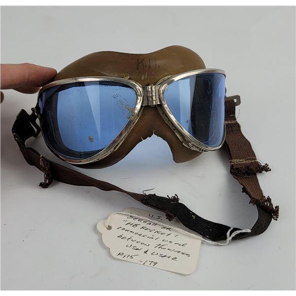 WW2 Seesall HB Rocket Flight Goggles