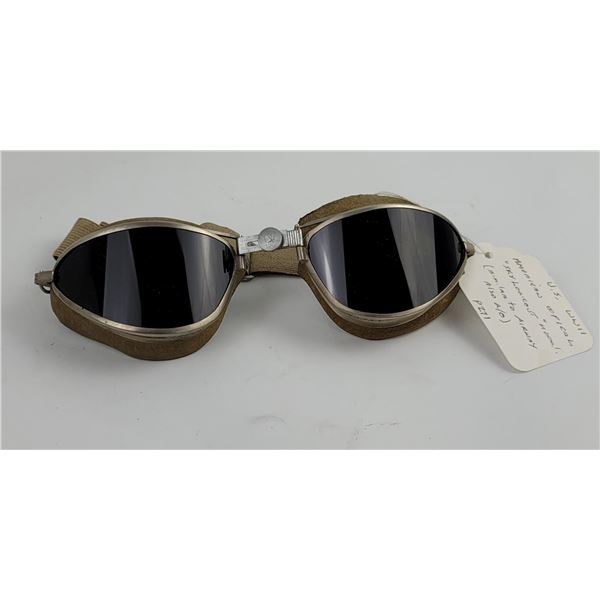 WW2 American Optical Sky Lookout Flight Goggles