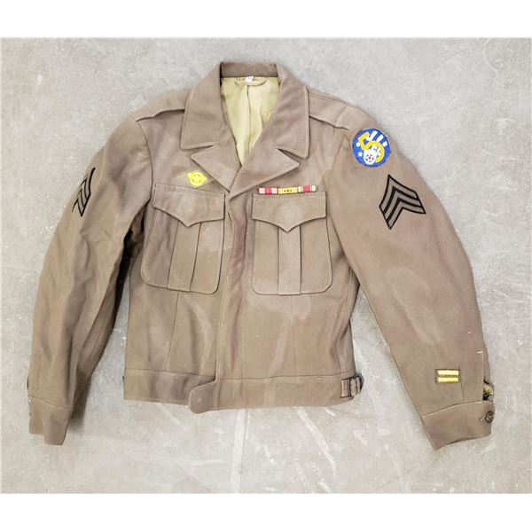 WW2 5th US Army Air Force Ike Uniform Jacket