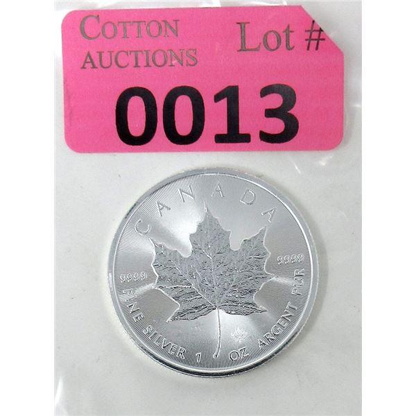 1 Oz. Canada .9999 Silver 2020 Maple Leaf Coin