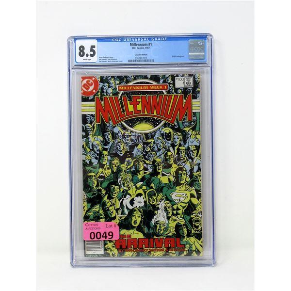"Graded 1987 ""Millennium #1"" DC Comic"