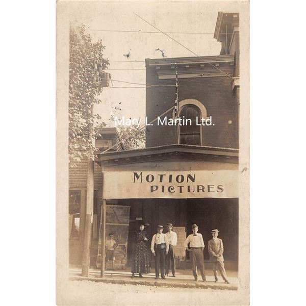 Shelbyville, Kentucky Motion Picture Theatre Front Real Photo Postcard
