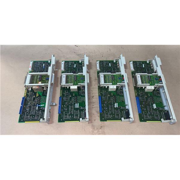 (4) - SIEMENS 6SN1118-0AA11-0AA1 CIRCUIT BOARDS