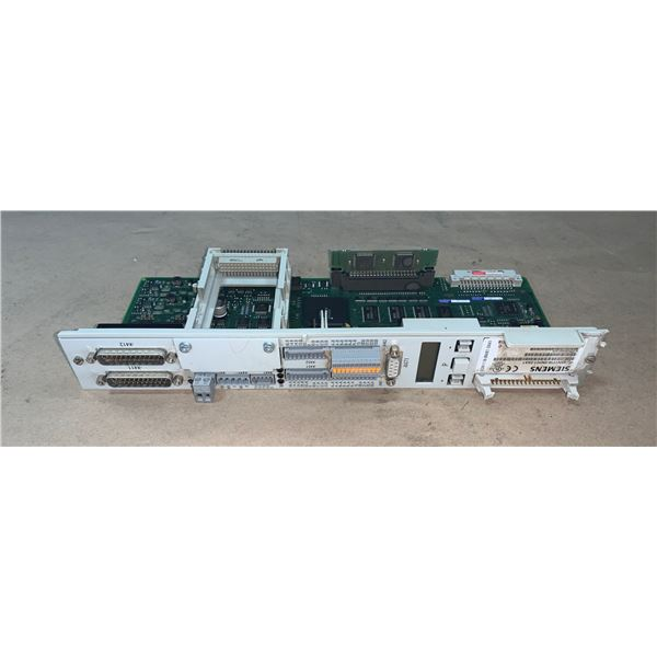 SIEMENS 6SN1118-0NH01-0AA1 CIRCUIT BOARD