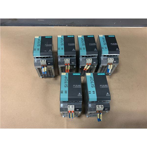 (6) - SIEMENS 6EP1961-3BA01 SITOP MODULAR BUFFER MODULES
