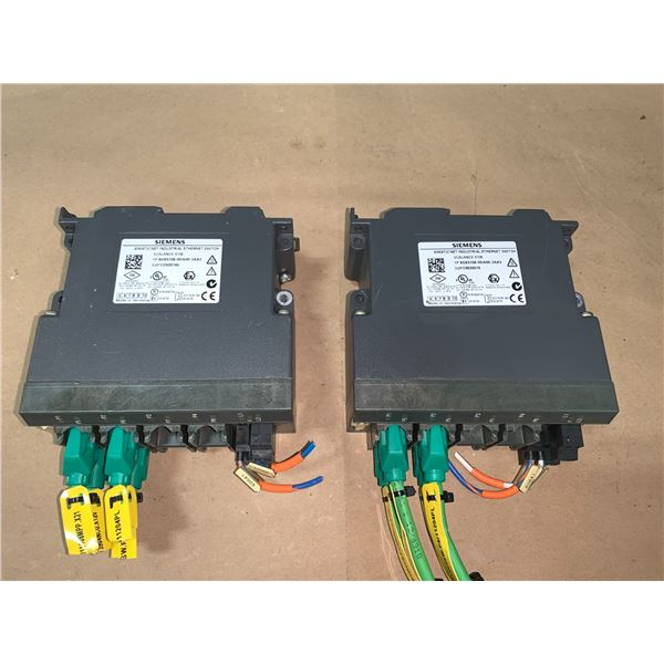 (2) - SIEMENS 6GK5108-0BA00-2AA3 SIMATIC NET INDUSTRIAL ETHERNET SWITCHES