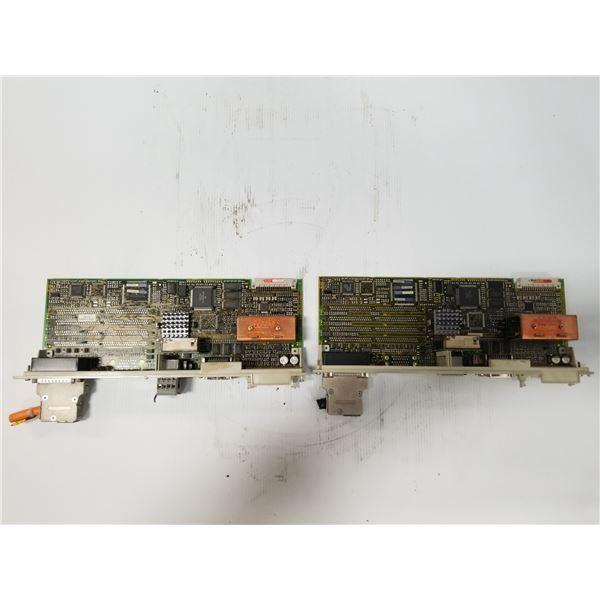 (2) SIEMENS 6SN1118-0DM11-0AA1 CONTROL CARD