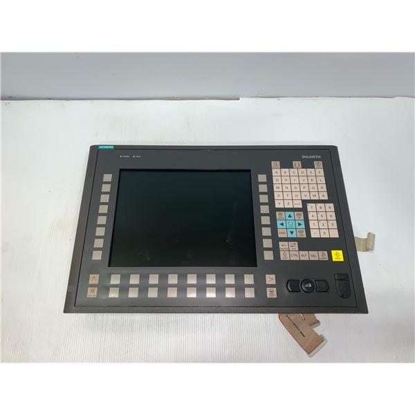 "SIEMENS 6FC5203-0AF02-0AA1_OP 012 12,1"" TFT OPERATOR PANEL FRONT W/ 6FC5312-0DA00-0AA1"
