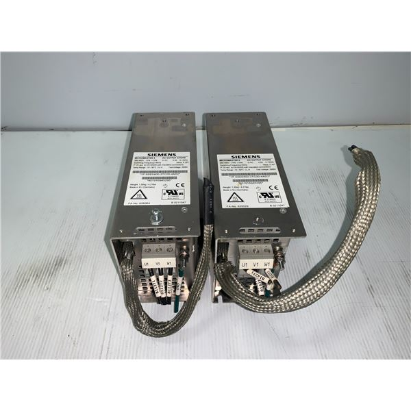 (2) - SIEMENS 6SE6400-3TC00-4AD2 MICROMASTER 4 AC OUTPUT CHOKE