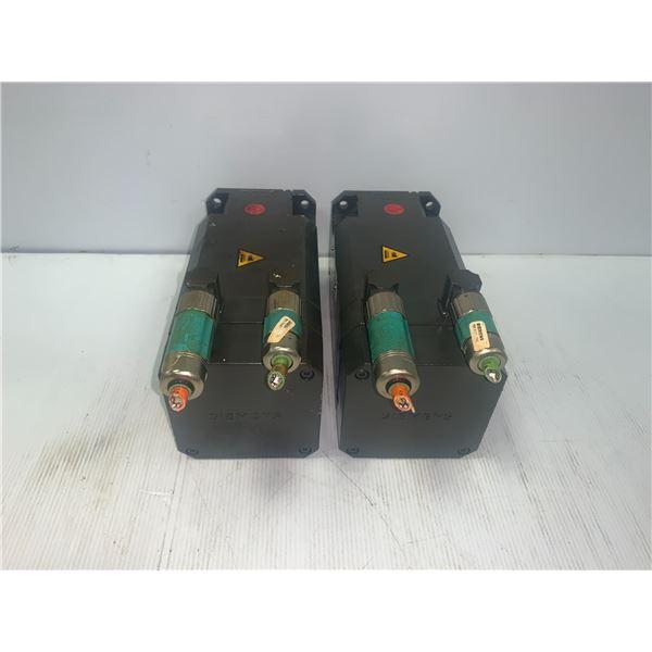 (2) - SIEMENS 1FT6062-1AF71-3EG1 MOTORS _ENCODER A-2048
