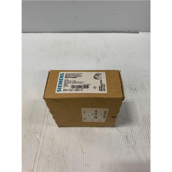 NEW - SIEMENS 3RV1021-4BA10 CIRCUIT BREAKER