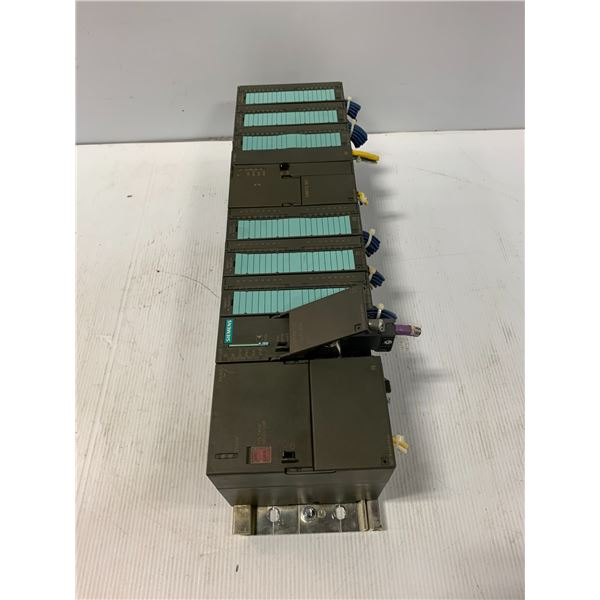 SIEMENS RACK WITH MODULES AS PICTURED