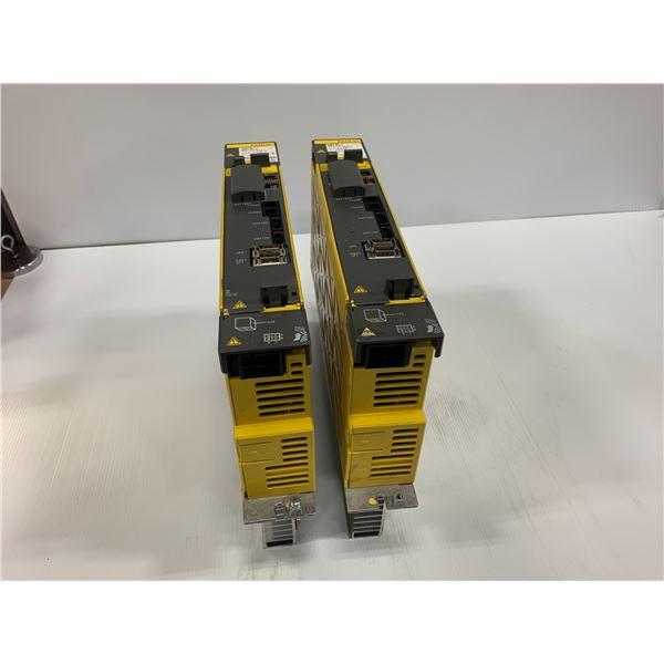 (2) - FANUC A06B-6117-H105 SERVO AMPLIERS
