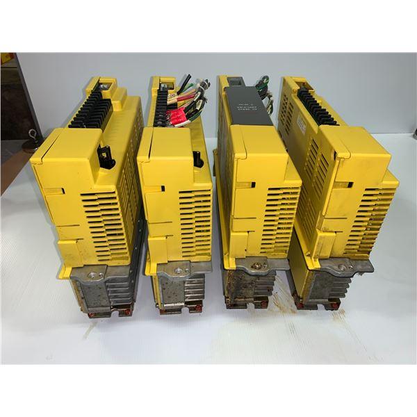 (4) - FANUC A06B-6066-H006 SERVO AMPLIFIERS