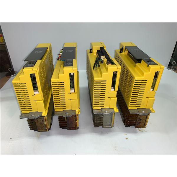 (4) - FANUC A06B-6066-H004 SERVO AMPLIFIERS