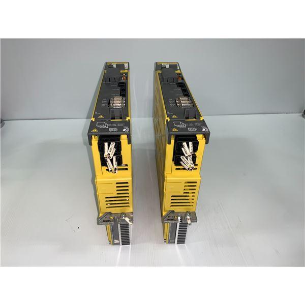(2) - FANUC A06B-6290-H205 SERVO AMPLIFIERS