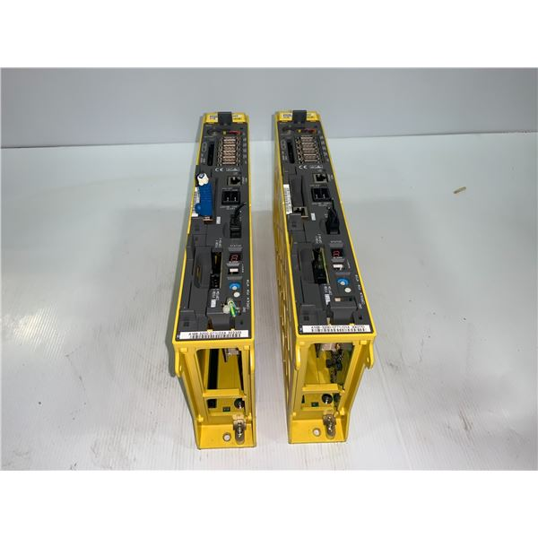 (2) - FANUC A02B-0327-B802 SERIES 31i-B DRIVES