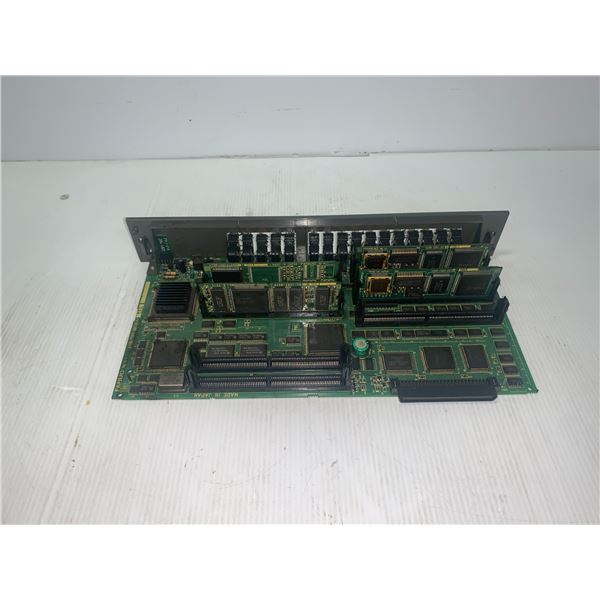 FANUC A16B-2202-0850/02A CIRCUIT BOARD WITH DAUGHTER BOARDS AS SHOWN