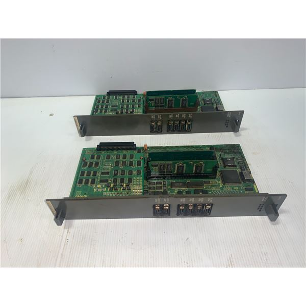 (2) - FANUC A16B-2201-0856/03B CIRCUIT BOARDS