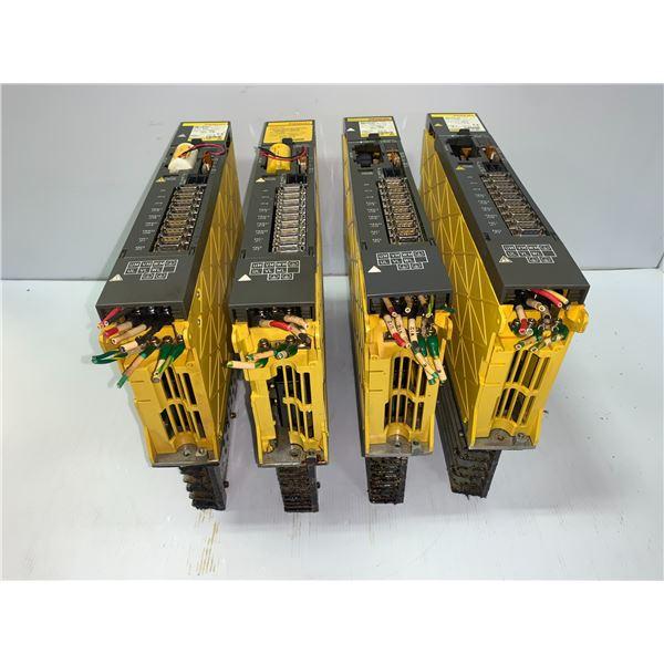 (4) - FANUC A06B-6079-H206 SERVO AMPLIFIER MODULES