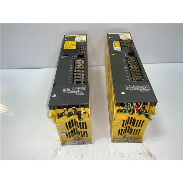 (2) - FANUC A06B-6080-H303 SERVO AMPLIFIERS MODULES