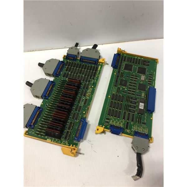 LOT OF (2) FANUC MISC CIRCUIT BOARDS