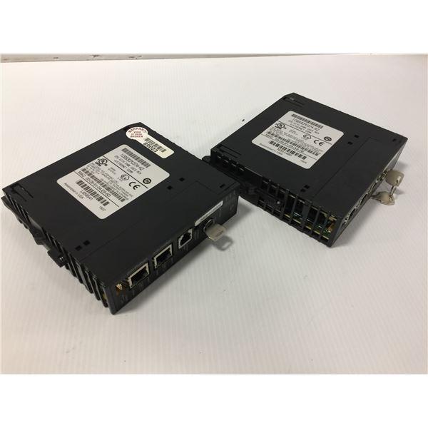 (2) GE FANUC IC693CPU374-KZ CPU MODULE