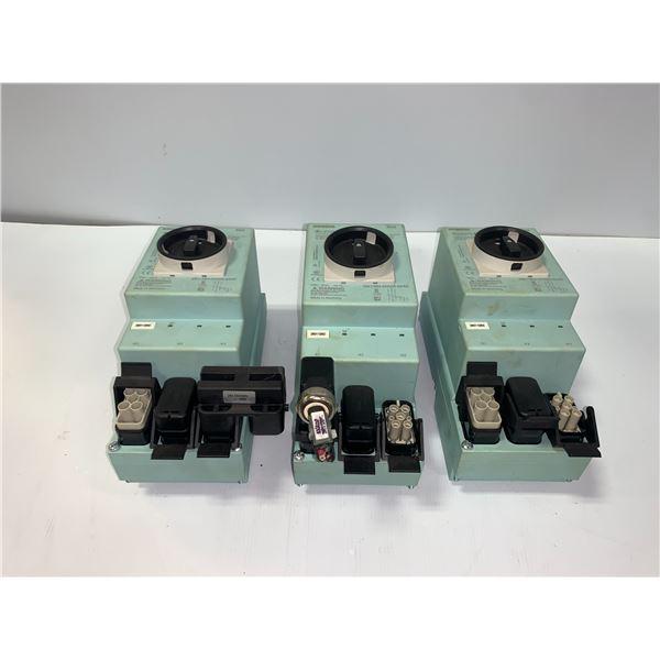 (3) - SIEMENS 3RK1304-0HS00-6AA0 ISOLATOR DISCONNECT MODULE