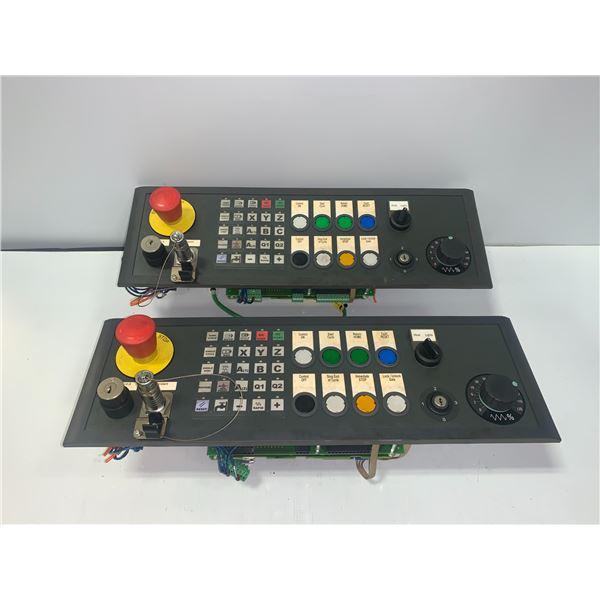(2) - SIEMENS 6FC5303-1AF12-8BD0 CONTROL PANELS