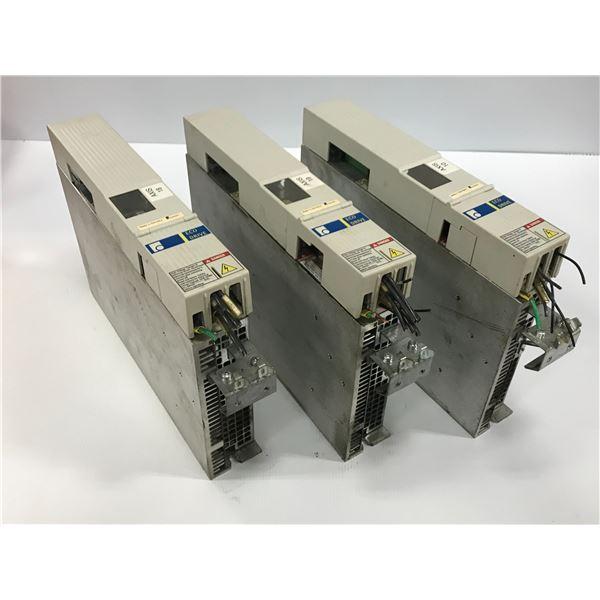 (3) REXROTH INDRAMAT DKC02.3-040-7-FW AMPLIFIER DRIVE