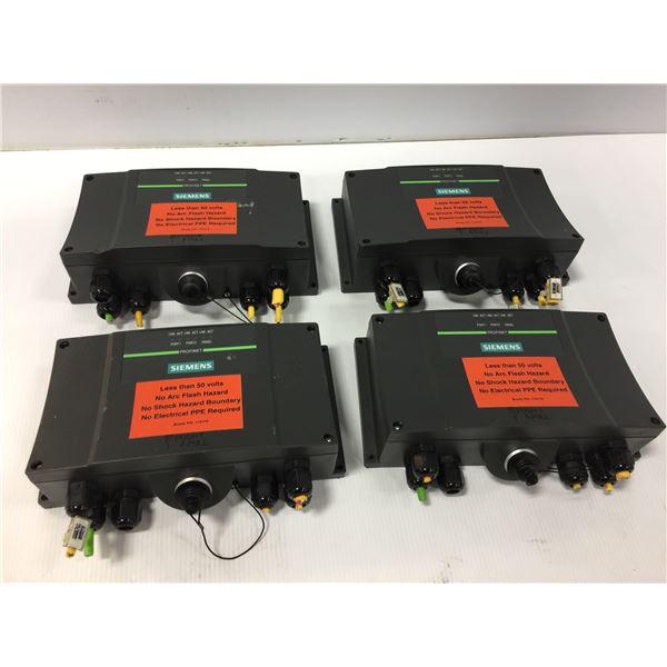 (4) SIEMENS 6AV6 671-5AE11-0AX0 CONNECTIVITY BOX