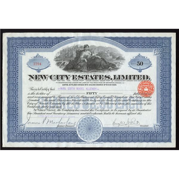 New City Estates Ltd.