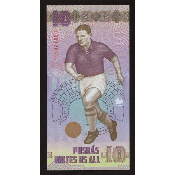 Hungary - Banknote Printing Co. Test Note Sport: Soccer