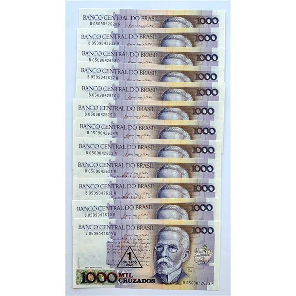 Brasil - 1000 Mil Intis