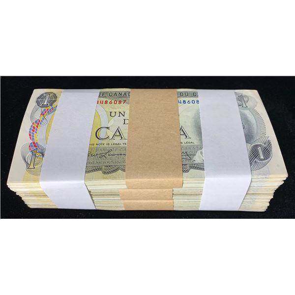 Bank of Canada $1, 1973 Assorted Brick
