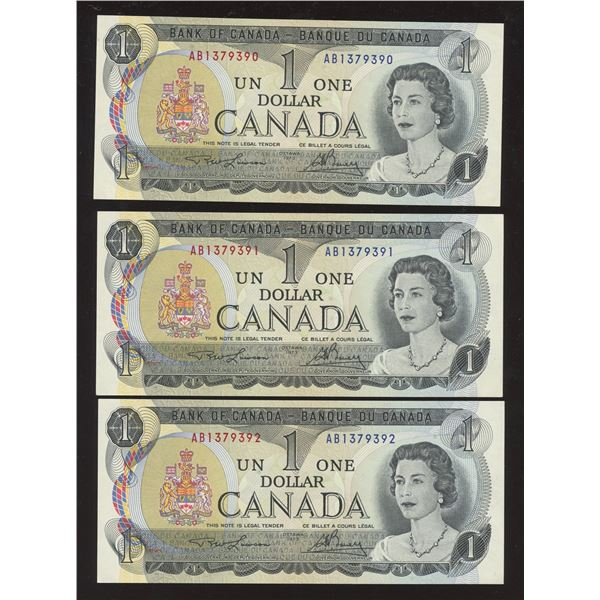 Uncirculated Bank of Canada - Lot of 20 Banknotes