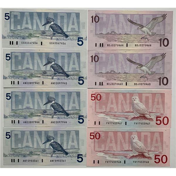 Bank of Canada Bird Series Collection