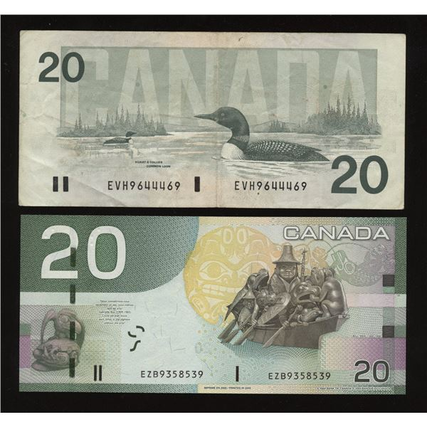 RADAR - Bank of Canada $20 Lot