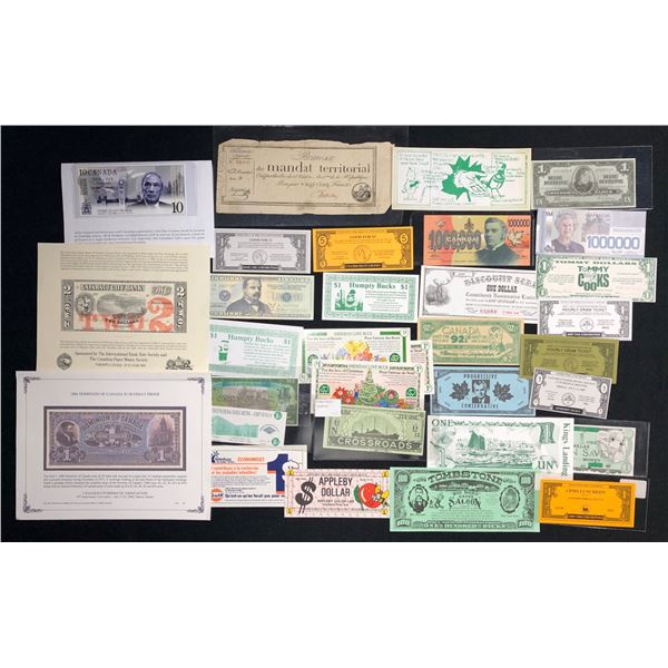 Assorted Canadian & Assorted Scrip