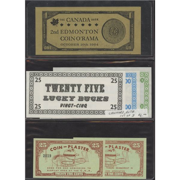 Assorted Canadian Scrip