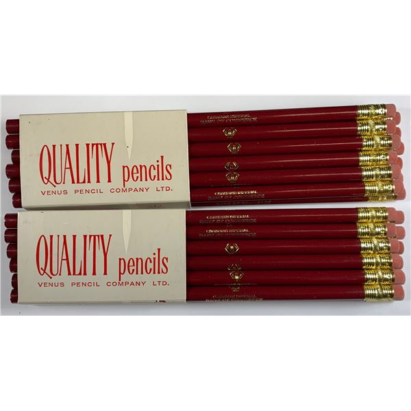 CIBC package of pencils
